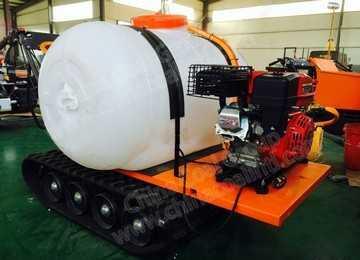 1All-Terrain Agricultural Medicine Sprayer Crawler Transport Vehicle
