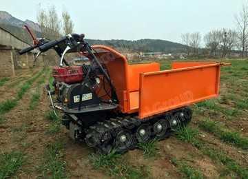 Small Fruit Transport Crawler Vehicle