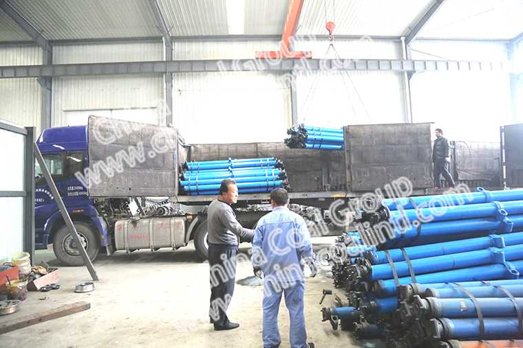 China Coal Group Sent Abatch Of Hydraulic Props To Shanxi Province
