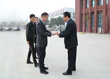 Warmly Welcome the Leaders of Huawei and Baigu Group to Visit China Coal Group