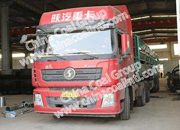 China Coal Group Sent A Batch Of Mining Flatbed Car Of To Shanxi Province