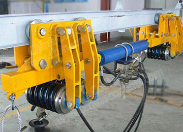 Mining Hydraulic Cable Hauler Cable Monorail Crane