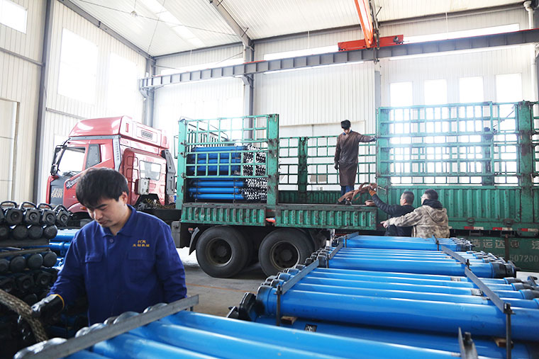 China Coal Group Sent A Batch Of Single Hydraulic Props To Heilongjiang Province