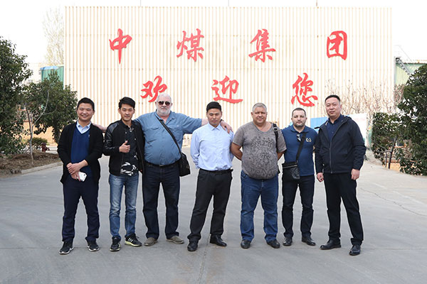 Warmly Welcome Russian Merchants To Visit China Coal Group For Purchase Mining Equipment