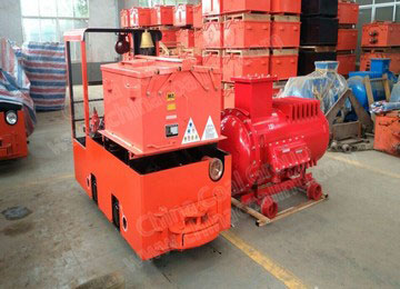 CAY25/7G Anti-Explosion 25t Battery Operated Locomotive For Underground Mine