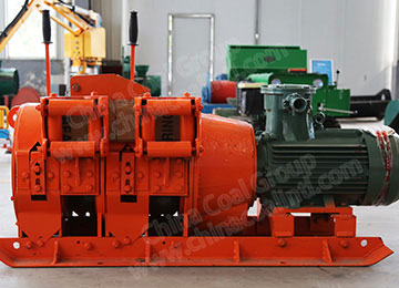 2JPB Twin Drum Scraper winch