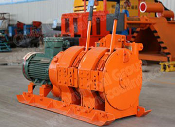 2JP(B)-7.5 Mining Electric Scraper Winch with Cast Steel Scraper