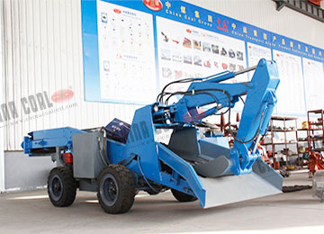 ZWY-60 Wheel Underground Tunnel Mucking Loader