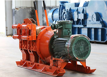 2JP Underground Electric Scraper Winch