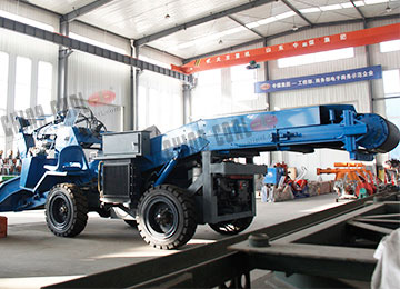 YZW Wheeled Belt Mining High Loading Capacity Mucking Loader