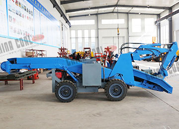 YZW Wheeled Scraper Type High Working Speed Mucking Machine Rock Muck loader