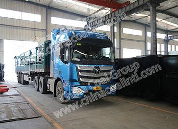 China Coal Group Sent A Batch Of Mining Flat Car To Heilongjiang