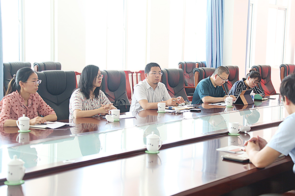 Warmly Welcome The Leaders Of Jining Innovation And Entrepreneurship Research Institute To Visit The China Coal Group