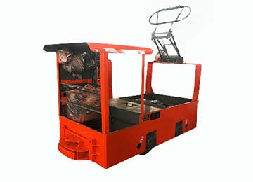 CJY 1.5T Coal Mine Trolley Locomotive