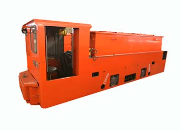 CTY 8 Tons Mining Battery Electric Locomotive