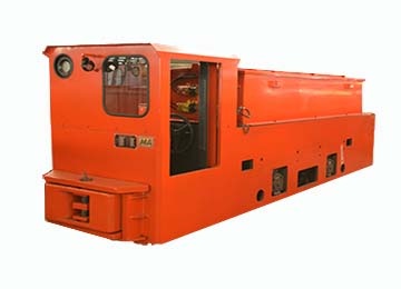 CTY18/6、7、9G 18 Tons Explosion-proof Mining Locomotive