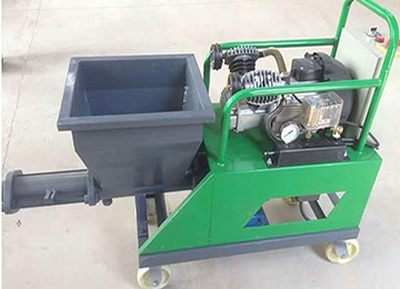 Putty Spraying Machine