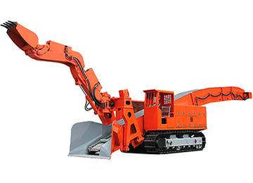 ZWY-80/45L Underground Mining Crawler Mucking Rock Loader