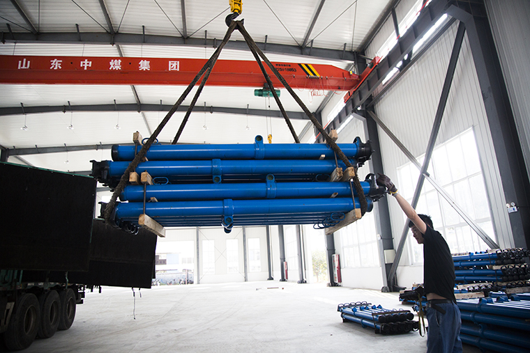 China Coal Group Sent A Group Of Mining Hydraulic Prop Equipment To Shanxi Province