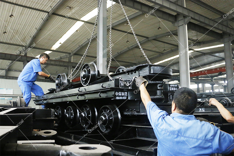 A Batch Of Mining Equipment Of China Coal Group Is Sent To Shanxi Province