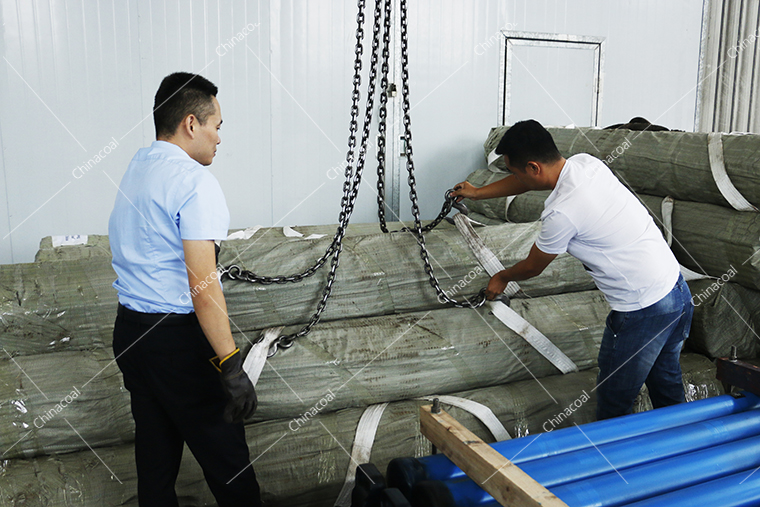 China Coal Group International Trading Co., Ltd. Exports A Group Of Anchor Rod To Iran Via Qingdao Port