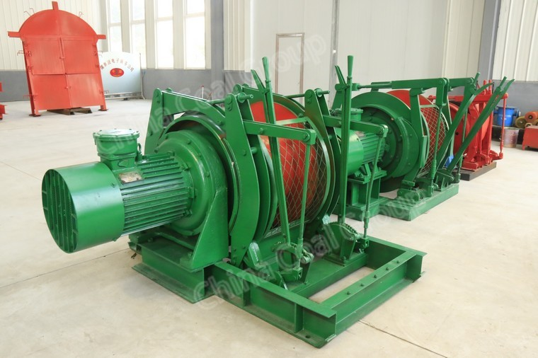 JD Mining Dispatching Winch