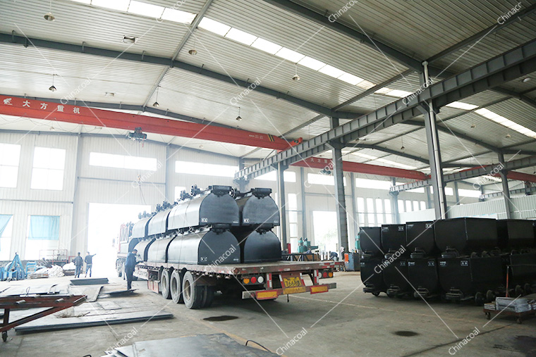 China Coal Group Sent A Batch Fixed Mining Cars To Jincheng Shanxi