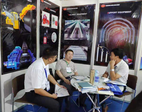 China Coal Group Participated In The 2019 Vietnam VIIF Exhibition And Achieve Successful Results