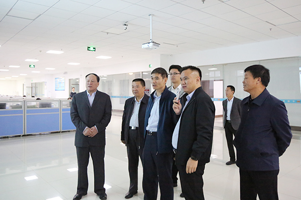 Warmly Welcome The Leaders Of Jining Industrial And Information Technology Bureau To Visit The China Coal Group