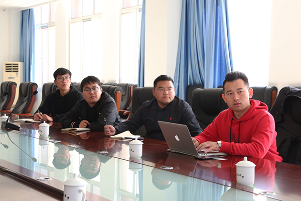 Warmly Welcome The Leaders Of Beijing Yiguan Think Tank Company To Visit China Coal Group To Inspect And Cooperate