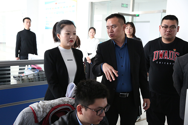 """Warmly Welcome The """"Inter-Learning And Mutual Comparison"""" Selection Team Of The Communist Youth League Committee To Visit The China Coal Group"""
