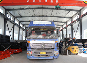 China Coal Group Sent A Batch Of Mining Single Hydraulic Props To Xinjiang