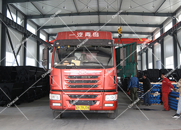Group Of Mining Hydraulic Props Of China Coal Group Sent To Shanxi Changzhi