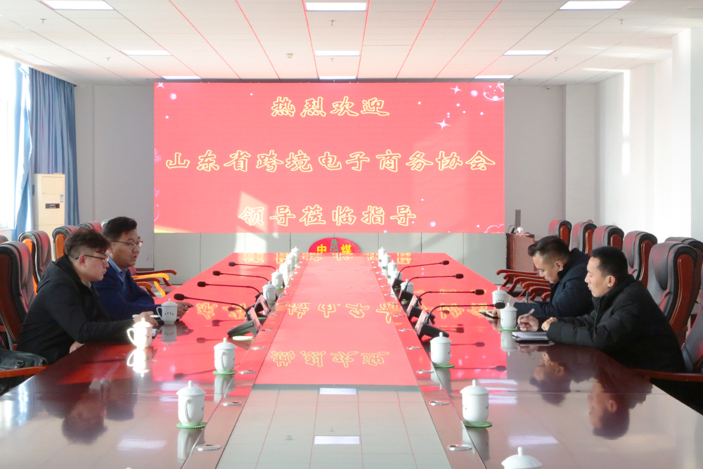 Warmly Welcome The Leaders Of Shandong Cross-Border E-Commerce Association To Visit China Coal Group
