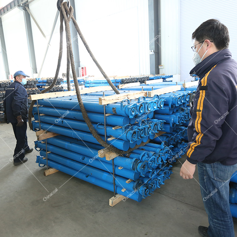 A Batch Of Mining Hydraulic Props Of China Coal Group Were Sent To Inner Mongolia And Yunnan Respectively