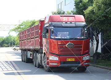 China Coal Group Sent A Batch Fixed Minecart To Gansu Province