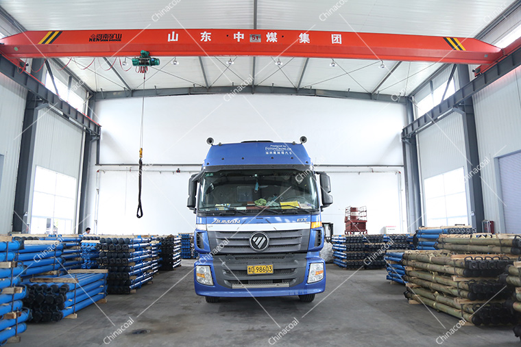 A Batch Of Mining Single Hydraulic Props Of China Coal Group Are Sent To Shanxi Province