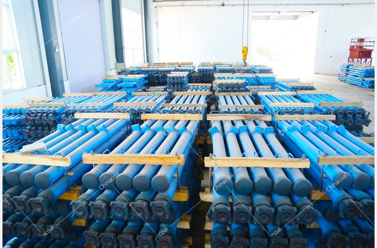 China Coal Group Send A Batch Mine Single Hydraulic Prop To Shanxi Province