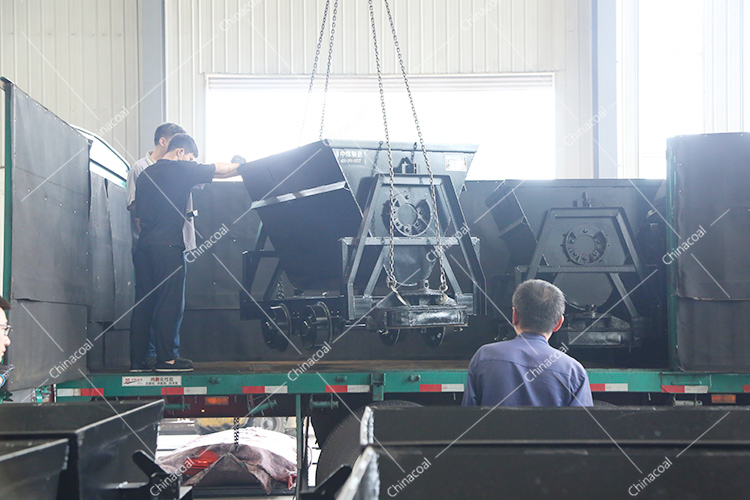 A Batch Of Bucket-Tipping Car From China Coal Group Sent To Changzhi, Shanxi Province