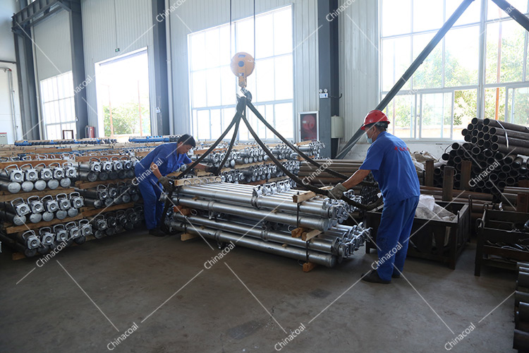 China Coal Group Send A Batch Mine Single Hydraulic Prop To Datong, Shanxi