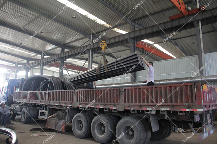 A Batch Of New U-shaped Steel Supports From China Coal Group Are Sent To Qufu