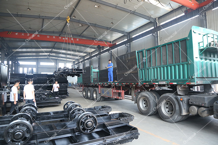China Coal Group Send A Batch Of Mining Flatbed Cars To Yulin, Shaanxi