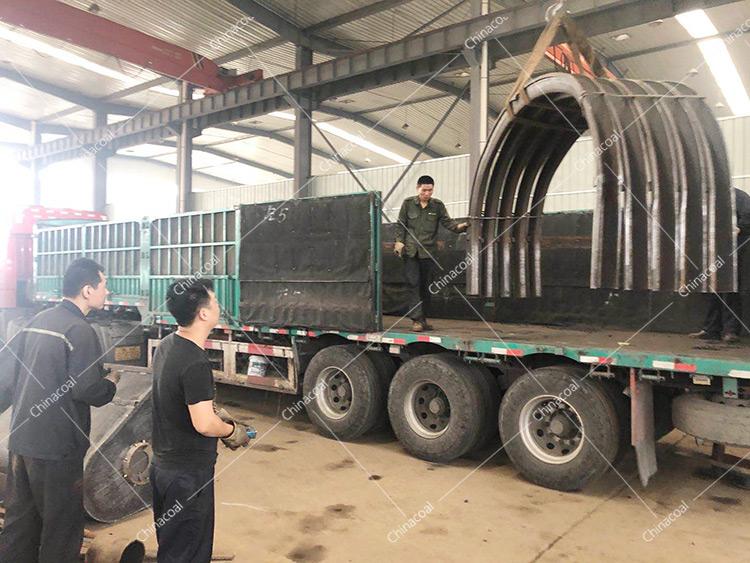 China Coal Group Sent A Batch Of New U-Shaped Steel Supports To Heilongjiang And Qinghai