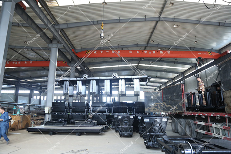 China Coal Group Sent A Batch Of Modified Flatbed Cars nceTo Pingyin, Jinan Province