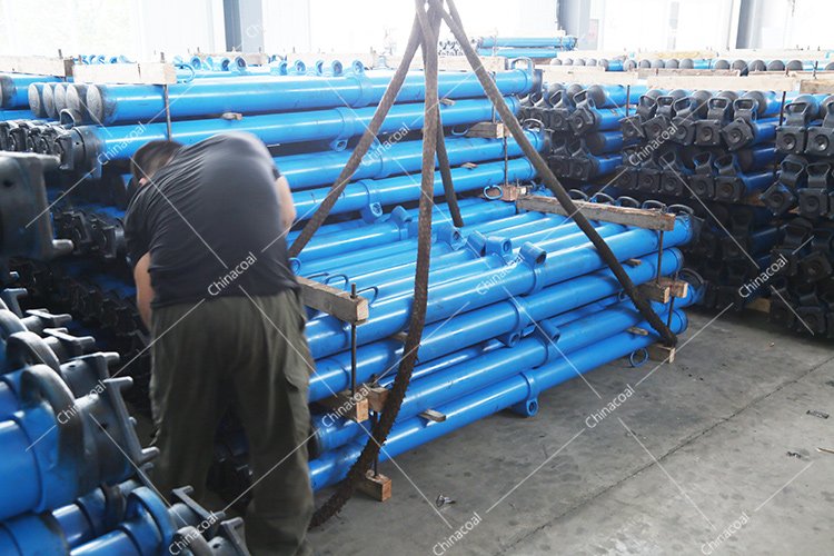 China Coal Group Sent A Batch Single Hydraulic Prop For Mine To Shanxi Luliang