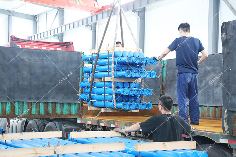 China Coal Group Sent A Batch Of Mining Single Hydraulic Props To Guizhou