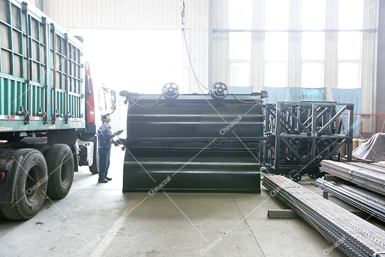 China Coal Group Sent A Batch Of Fixed Mine Car To Datong, Shanxi
