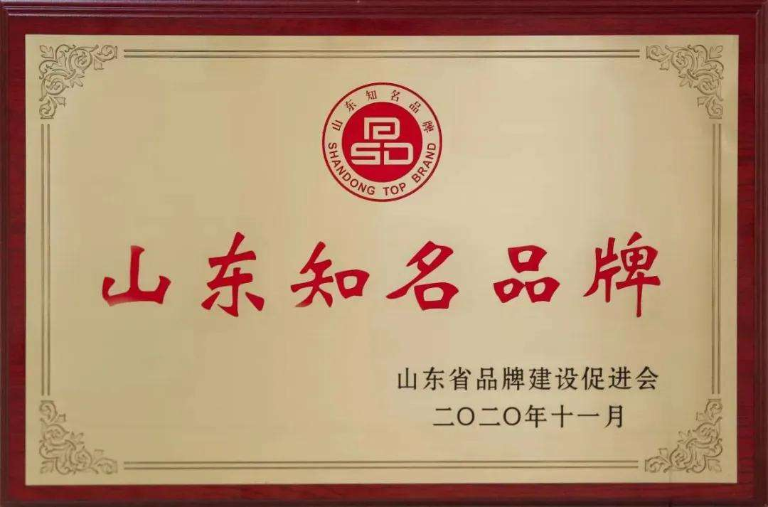 Congratulations To The Caterpillar Intelligent Robot Company Under China Coal Group For Being Awarded The 2020 Shandong Famous Brand