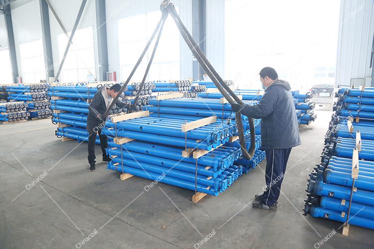 China Coal Group Sent A Batch Of Mining Single Hydraulic Props To Shanxi Jinzhong