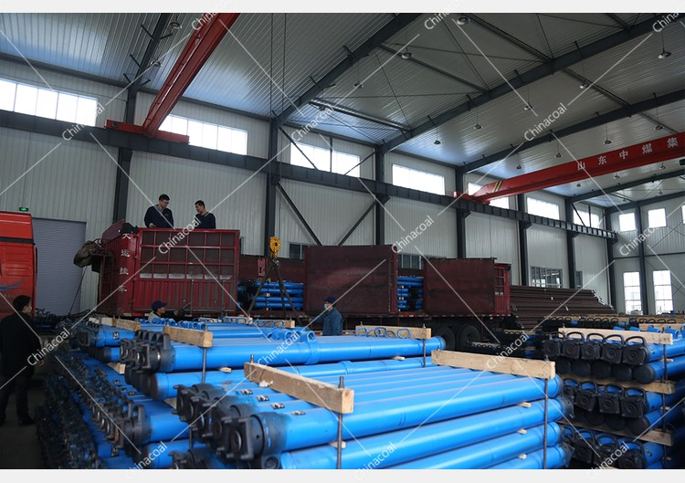 China Coal Group Sent A Batch Of Suspended Mining Single Hydraulic Props To Henan